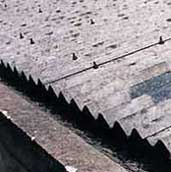 roof containing asbestos